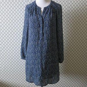 Daniel Rainn Long Sleeve Fully Line Tunic Dress S
